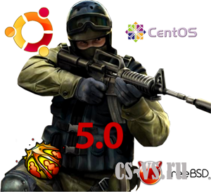 Counter-Strike 1.6 Open Server Linux Версия 5.0 Final