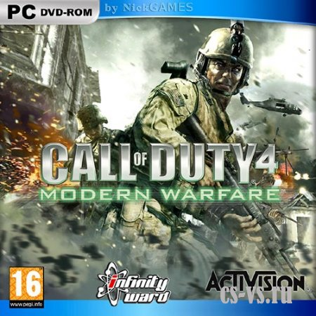 Call of Duty 4 Modern Warfare - Multiplayer (2007/RUS/RIP by Chingis Tsyrenov)