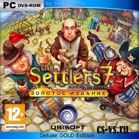 The Settlers 7: Право на трон. Deluxe Gold Edition (2011/PC/RUS/RePack от z10yded)